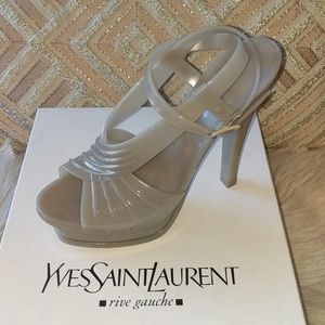 New Yves Saint Laurent Stone Rubber Tribu Sz Us 10